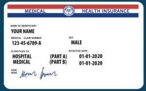 Automatic enrollment means you'll get your Medicare card in the mail